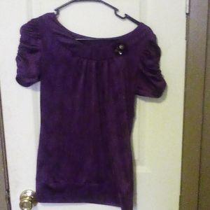 Satin blend blouse